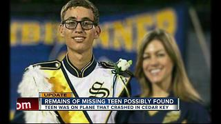 Remains of Steinbrenner student possibly found