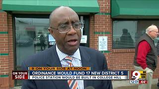 District 5 police officers might be moving to College Hill in January, may construct new building - Video
