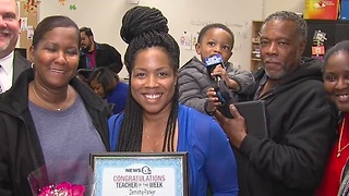 Teacher of the Week: Denisha Parker - Video