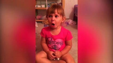Dad Confronts His Little Girl On The Mess, She Blames It All On Barbie
