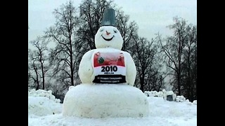 World's Biggest Snowman? - Video