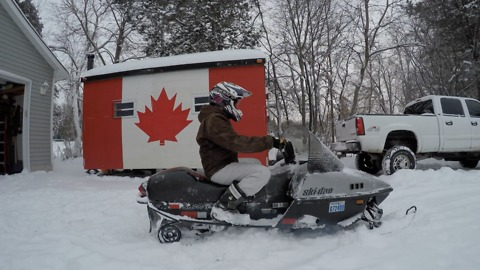 Skidoo Safari 377 For a Rip