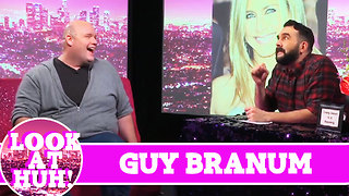 Guy Branum LOOK AT HUH! On Season 2 of Hey Qween with Jonny McGovern - Video