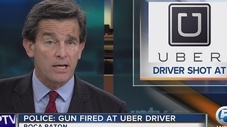 Police Gun fired at Uber driver - Video