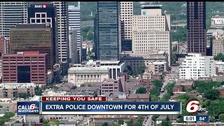 More public safety officials downtown for Fourth of July fireworks - Video
