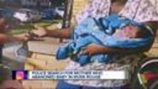 Police still searching for woman who abandoned baby - Video