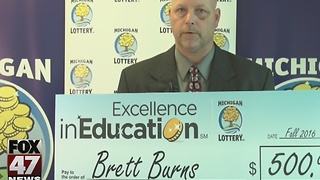 Excellence in Education 11/22/16: Brett Burns - Video