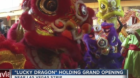 Lucky Dragon celebrates grand opening with traditional Chinese ceremony