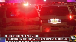 Police investigating shooting in west Valley - Video