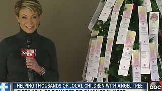 Helping Thousands of local children with Angel Tree - Video