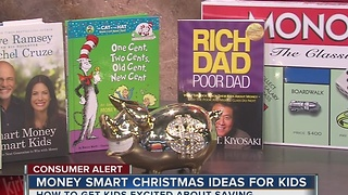 Christmas money smart gift ideas for kids - Video