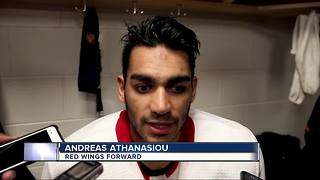 Andreas Athanasiou back with the Red Wings - Video