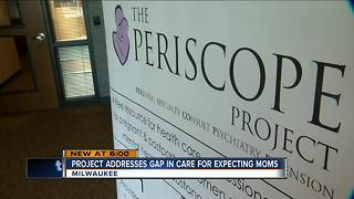 Project helps pregnant women with mental health - Video