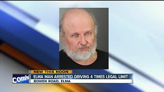 POLICE: Elma driver had BAC 4 times legal limit - Video