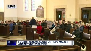 Fourth annual Walk for Hope march against gun violence