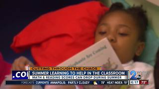 Tips for summer learning to help in the classroom