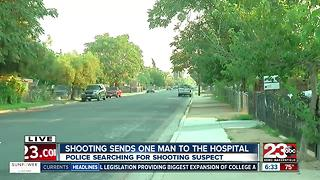 Man in hospital with major injuries after he was shot in McFarland - Video