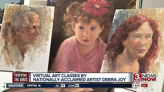 Artist Hosts Online Classes
