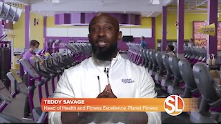Teddy Savage from Planet Fitness talks about working out for mental wellness