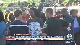 Delray Beach food assistance site brings thousands of people - Video