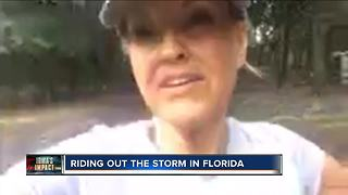 Floridians with Wisconsin ties deal with Irma's wrath - Video