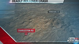 Rollover in Tombstone leaves teenager dead - Video
