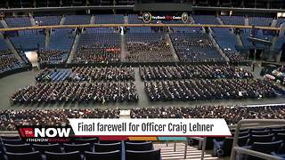 The Now: WNY says goodbye to Officer Lehner - Video