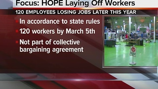 Focus: HOPE laying off more than 100 workers - Video