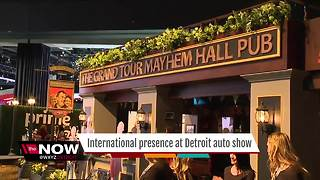International presence at the North American International Auto Show - Video