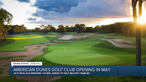 Jack Nicklaus brings military support to Grand Haven's American Dunes Golf Club