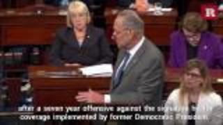 John McCain brought down the GOP's latest attempt to kill Obamacare - Video
