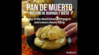 Dead Bread Stuffed with Guava and Cheese