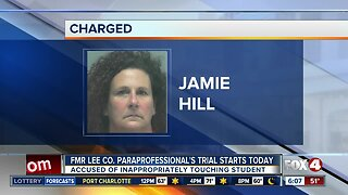 Trial set to begin for former Lee County school employee accused of touching student