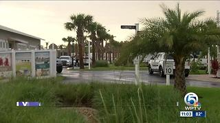 Guadalupe Sainas: Worker struck by lightning has died - Video