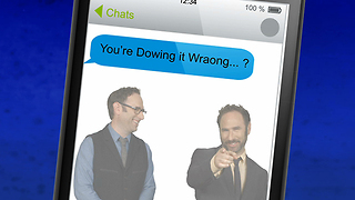 Maybe You Are Sending The Wrong Message With Your Texts - Video
