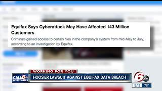 Hoosiers file lawsuits against Equifax Data Breach - Video