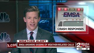 EMSA answers dozens of weather-related calls - Video