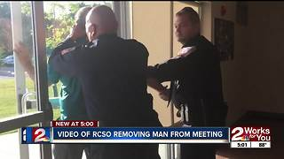 RCOSo removes man from medical marijuana meeting - Video