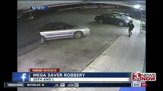 Police release video from MegaSaver robbery - Video