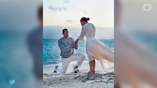 Alex Rodriguez Proposed To JLo