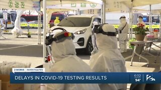Delays in COVID-19 test results