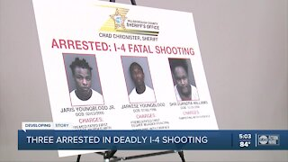 Arrests made in I-4 shooting that killed 17-year-old in Hillsborough County