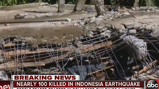 Nearly 100 killed in Indonesia earthquake - Video