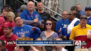 Big 12 tickets selling slower than usual - Video