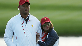 Tiger Woods Shows Off His New Girlfriend - Video