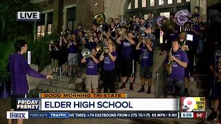 Elder High School students prepare for game vs. Moeller - Video