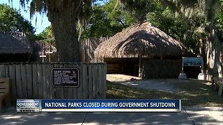 De Soto National Memorial impacted by government shutdown