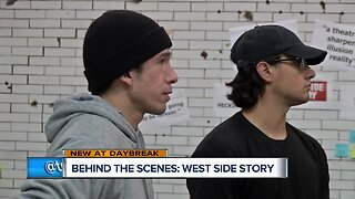 Behind the scenes at West Side Story