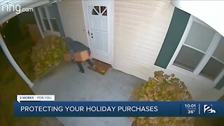 Protecting your packages from porch pirates during the holidays