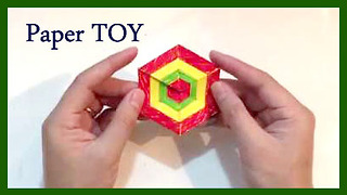 How to make a Toy from Paper | Bee DIY  - Video
